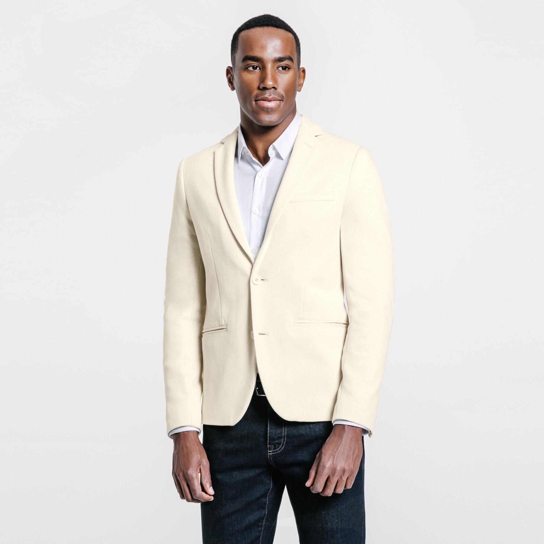 Veste beige claire homme