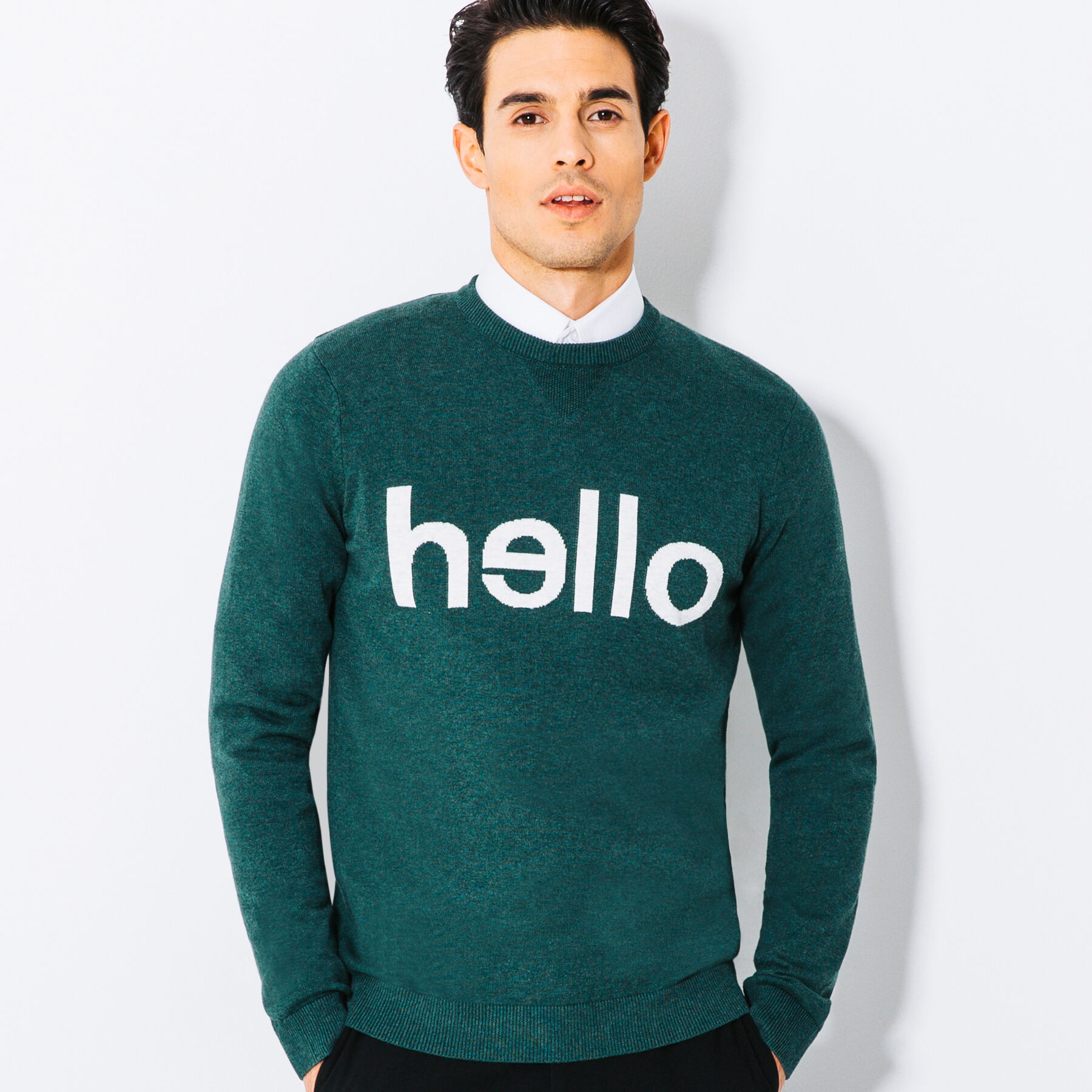 pull homme a message