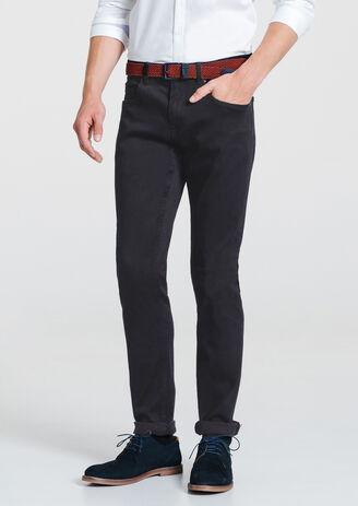 Jean slim urbanflex blue/black