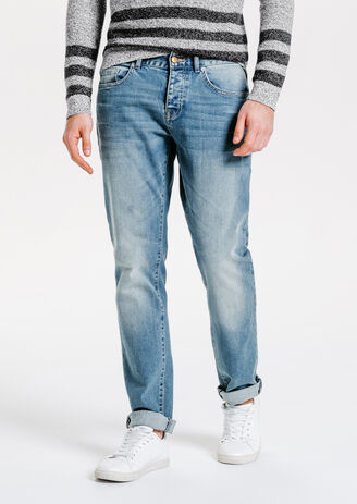 Jean straight summer wash