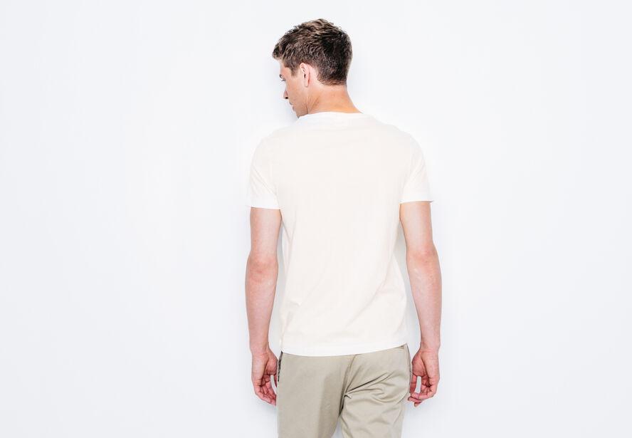 """T-shirt col rond imprimé """"C"""""""