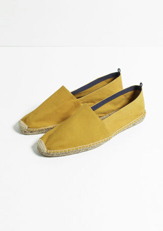 Espadrilles canvas unies