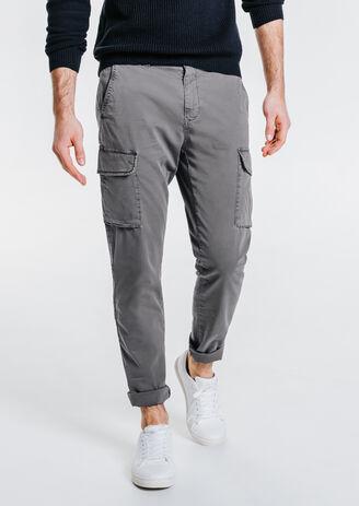 Pantalon battle slim coton stretch