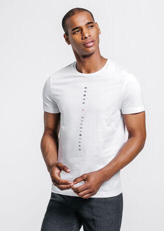 tee shirt imprimé devant et dos