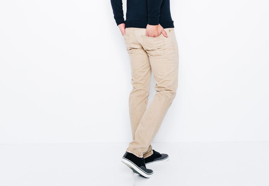 Jean straight teinture naturelle
