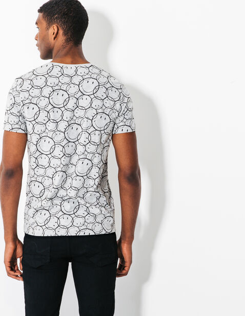 Tee shirt imprimé Smiley