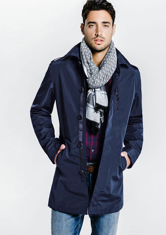 Trench droit