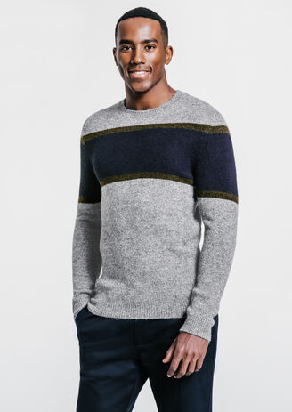 Pull bandes tricolores