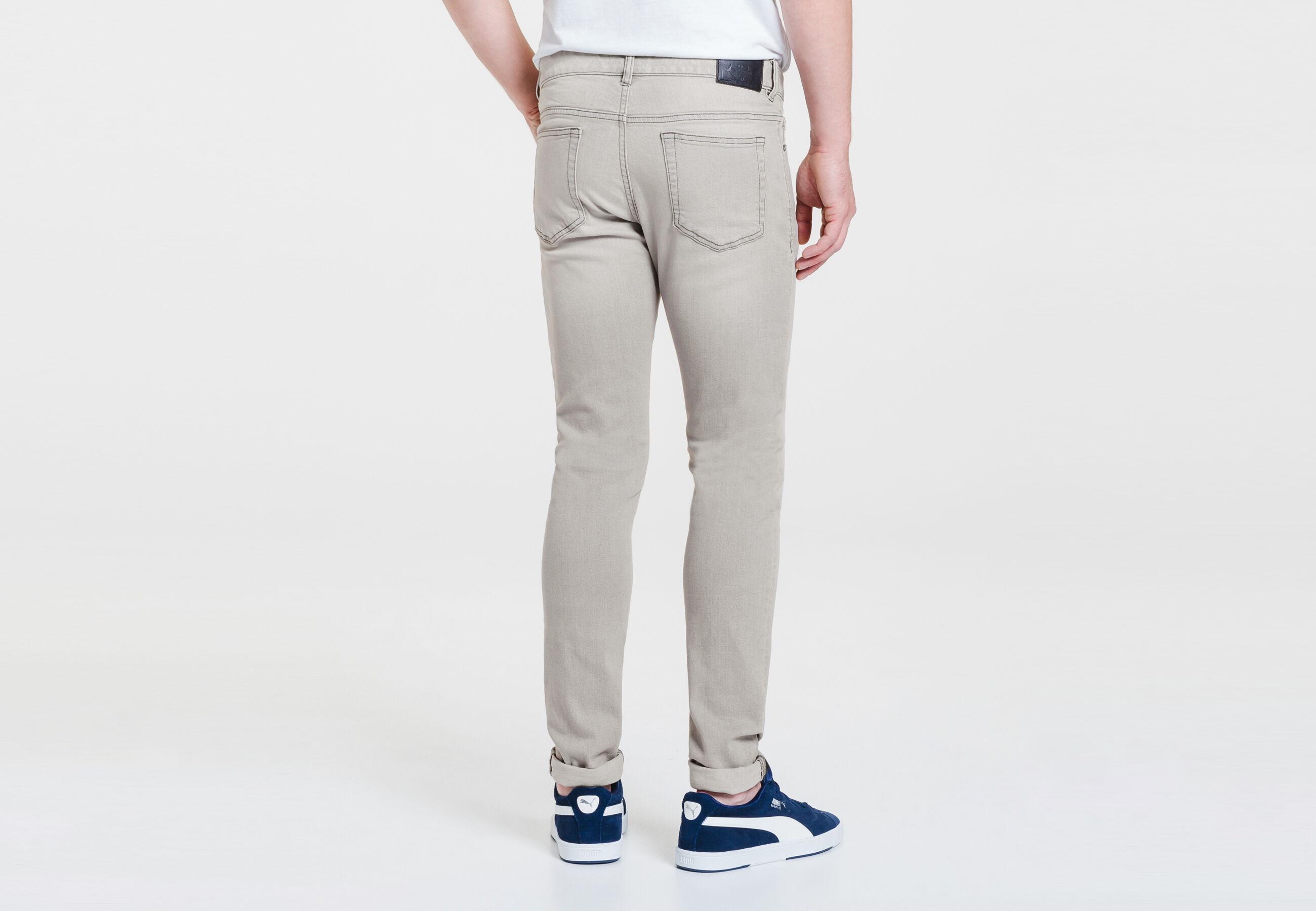 Jean skinny gris clair gris clair lg32 homme jules - Jean gris clair homme ...