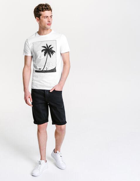 Tee shirt imprimé îles