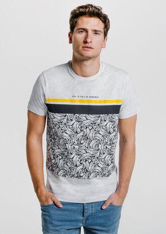 Tee shirt imprimé bananes
