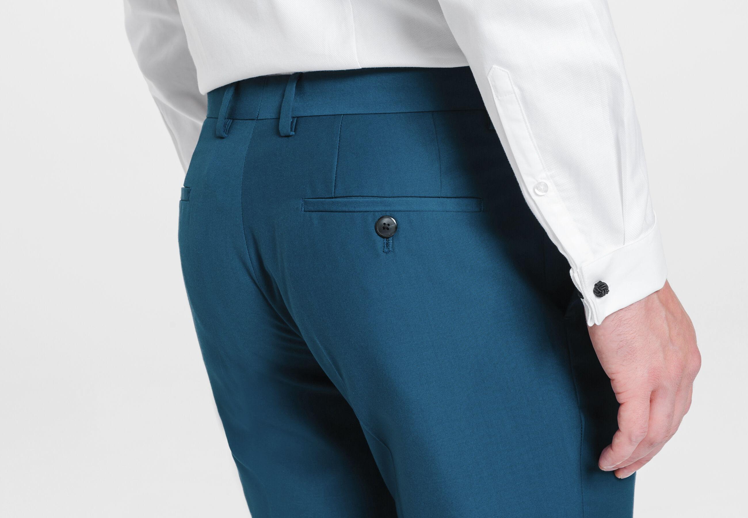 pantalon de costume slim bleu canard bleu canard homme jules. Black Bedroom Furniture Sets. Home Design Ideas