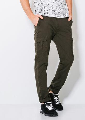 Pantalon slim poches army