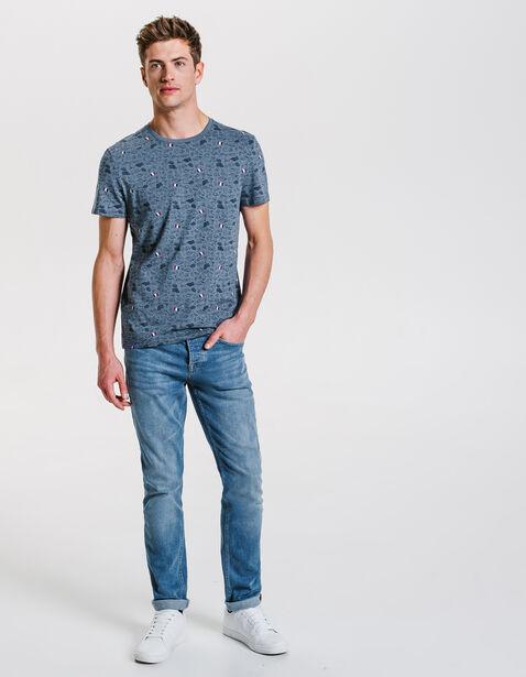 Tee shirt imprimé Paris