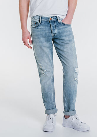 Jean straight lavage vintage