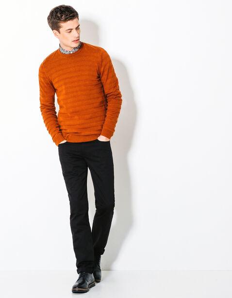 Pantalon straight forme jean