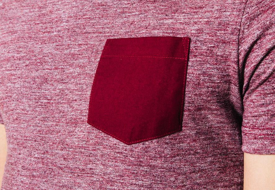 T-shirt fantaisie poche Fabrication Française