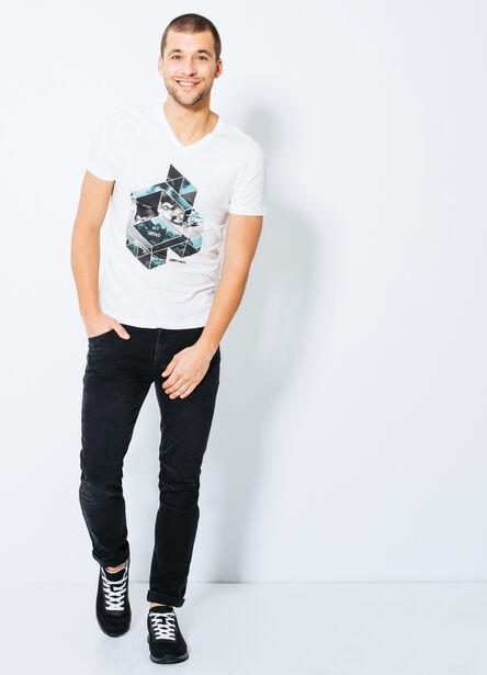 """T-shirt col V """"Lost Inside my mind"""""""