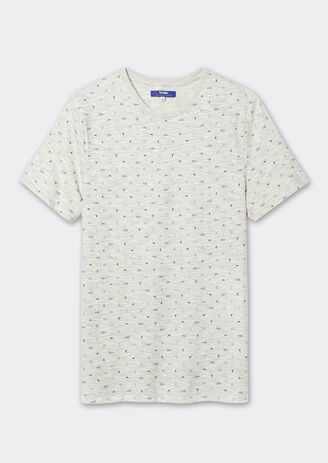 Tee shirt imprimé homard