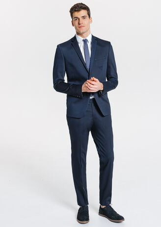 Costume slim bleu