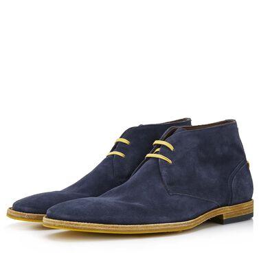 Floris van Bommel suede men's lace-up boot