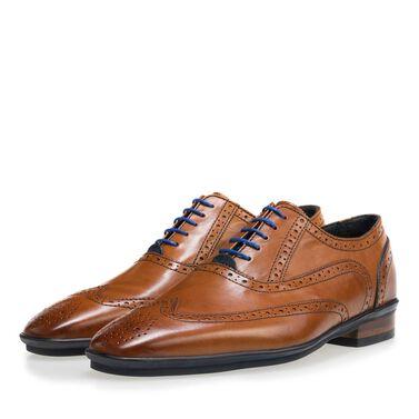 Floris van Bommel leather lace-up shoe