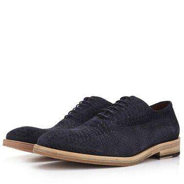 Floris van Bommel suede men's lace-up shoe