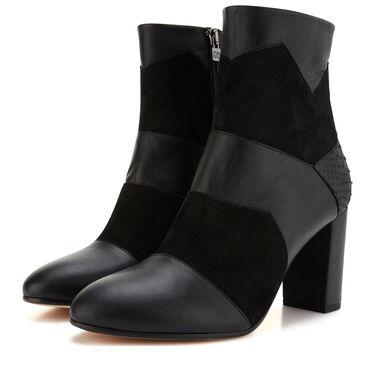 Floris van Bommel patchwork ankle boot