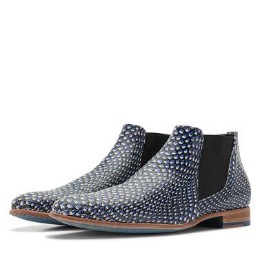 Floris van Bommel men's Chelsea boots