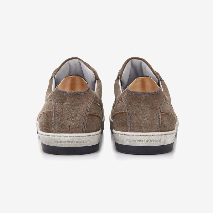 Floris van Bommel zandkleur suède heren sneaker