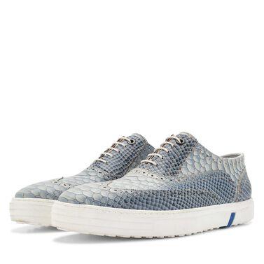 Floris van Bommel snakeprint heren brogue sneaker