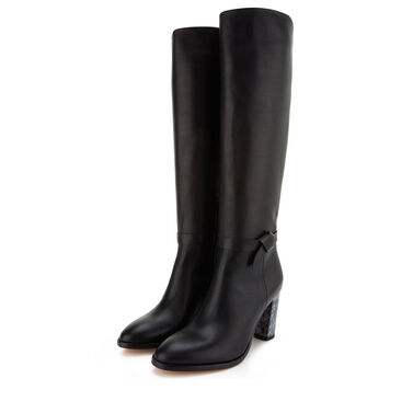 Floris van Bommel leather boot from calf's leather
