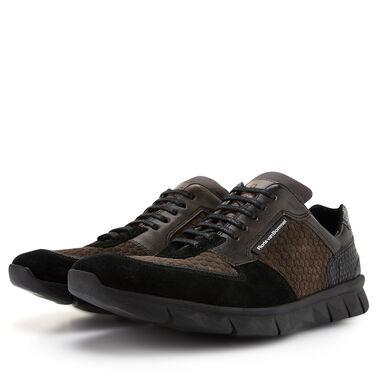 Floris van Bommel suède heren sneaker
