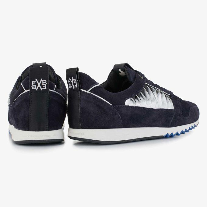 Floris van Bommel donkerblauwe dames sneaker