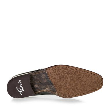 Floris van Bommel leather men's lace-up boot