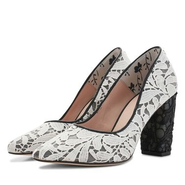 Floris van Bommel suede leather pumps