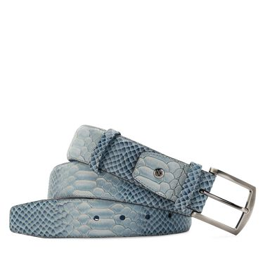 Floris van Bommel leahter men's belt