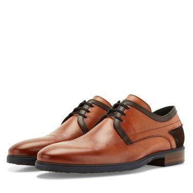 Floris van Bommel suede men's lace shoe