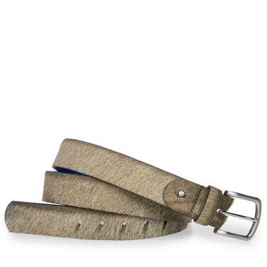 Floris van Bommel pony hair men's belt