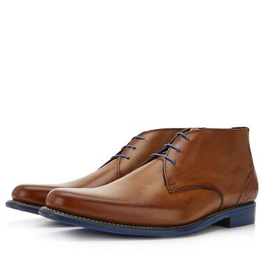 Floris van Bommel leather men's lace-up boot