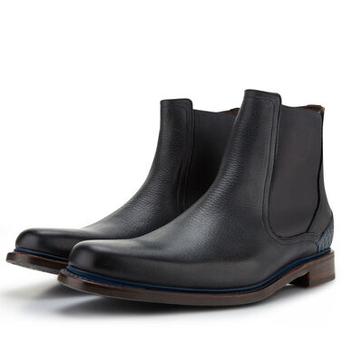 Floris van Bommel leather men's Chelsea boot