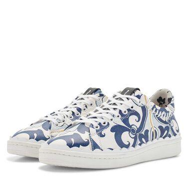Floris van Bommel leren dames sneaker
