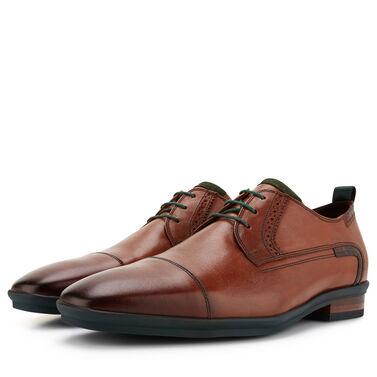 Floris van Bommel suede lace shoe