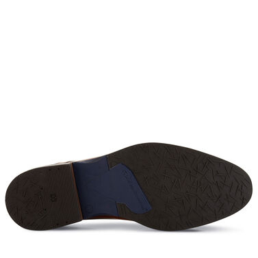 Floris van Bommel men's lace boot with triangle print