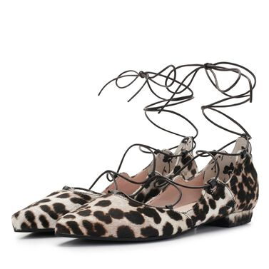 Floris van Bommel women's leather ballerinas