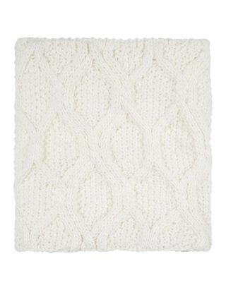Damen Loop-Schal mit Teddyfell