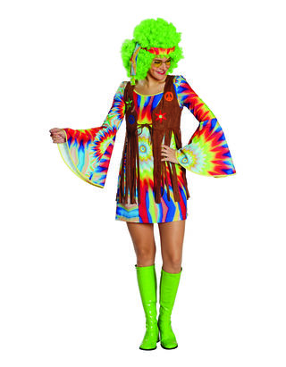 Damen Hippie Kostüm