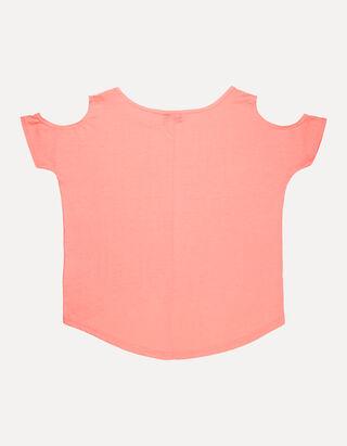 Mädchen Shirt mit Ziersteinen