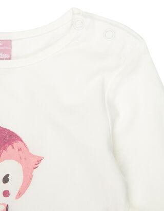 Newborn Shirt mit Print