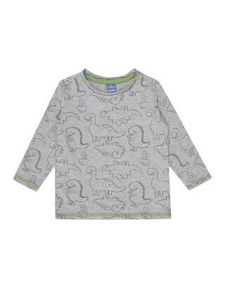 Newborn Shirt mit Dino-Print